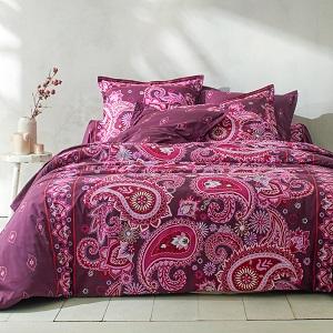 Linge de lit Persia coton – Taie d'oreiller volant plat : 65x65cm – 100100
