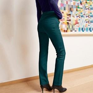 Pantalon stretch coupe droite – 550779