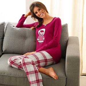 Pyjama esquimau – maille et pilou – 706060