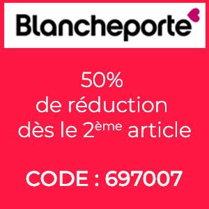 50% de réduction dès le 2ème article